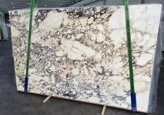 Suministro planchas pulidas 0.8 cm en mármol natural CALACATTA VIOLA 1291. Detalle imagen fotografías