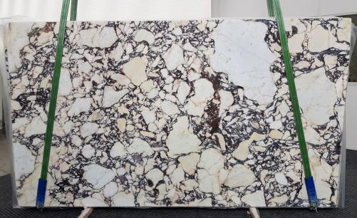 Suministro planchas pulidas 0.8 cm en mármol natural CALACATTA VIOLA #1106. Detalle imagen fotografías