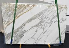 Suministro planchas pulidas 3 cm en mármol natural CALACATTA 1344. Detalle imagen fotografías