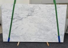 Suministro planchas pulidas 2 cm en mármol natural CALACATTA 1436. Detalle imagen fotografías