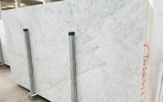 Suministro planchas pulidas 2 cm en mármol natural CARRARA 1693M. Detalle imagen fotografías