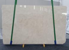 Suministro planchas pulidas 0.8 cm en mármol natural CREMA MARFIL 1268. Detalle imagen fotografías
