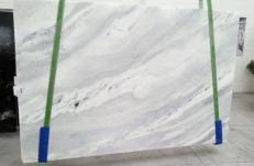 Suministro planchas pulidas 0.8 cm en mármol natural DAMASCO WHITE 573. Detalle imagen fotografías