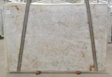 Suministro planchas pulidas 3 cm en cuarcita natural DIAMOND CRISTALLO BQ02287. Detalle imagen fotografías