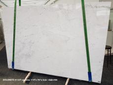 Suministro planchas pulidas 2 cm en Dolomita natural DOLOMITE ORION WHITE 1127. Detalle imagen fotografías