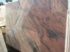 Suministro planchas pulidas 0.8 cm en mármol natural ETOWAA PINK EM_0224. Detalle imagen fotografías