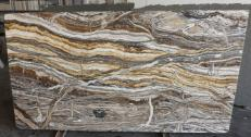Suministro planchas pulidas 0.8 cm en ónix natural fantasy brown onyx R682. Detalle imagen fotografías