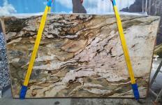 Suministro planchas pulidas 2 cm en cuarcita natural FUSION MISTIC A0113. Detalle imagen fotografías