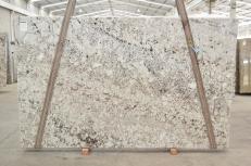 Suministro planchas pulidas 3 cm en granito natural GALAXY WHITE 01099. Detalle imagen fotografías
