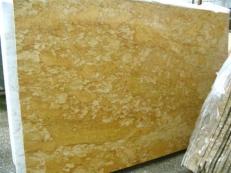 Suministro planchas pulidas 2 cm en mármol natural GIALLO REALE SRC25132. Detalle imagen fotografías