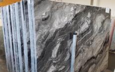 Suministro planchas pulidas 0.8 cm en mármol natural GRIGIO OROBICO AA T0044A. Detalle imagen fotografías