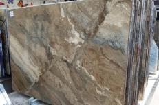 Suministro planchas pulidas 0.8 cm en mármol natural ILLUSION BRONZE U0103. Detalle imagen fotografías