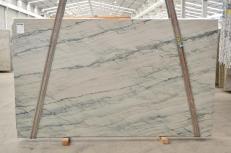 Suministro planchas pulidas 0.8 cm en cuarcita natural INFINITY GREY 2390. Detalle imagen fotografías