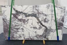 Suministro planchas pulidas 0.8 cm en mármol natural LILAC 12601. Detalle imagen fotografías