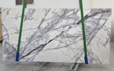 Suministro planchas pulidas 0.8 cm en mármol natural LILAC 1205. Detalle imagen fotografías