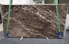 Suministro planchas pulidas 2 cm en mármol natural MARRON IRIS 1404. Detalle imagen fotografías