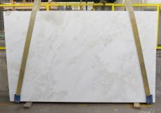 Suministro planchas pulidas 3 cm en mármol natural MYSTERY WHITE 24915. Detalle imagen fotografías