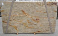 Suministro planchas pulidas 3 cm en cuarcita natural NACARADO BQ01693. Detalle imagen fotografías