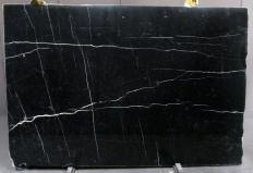 Suministro planchas pulidas 0.8 cm en mármol natural NERO MARQUINA 1133M. Detalle imagen fotografías