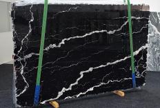 Suministro planchas pulidas 2 cm en mármol natural NERO MARQUINA 1394. Detalle imagen fotografías
