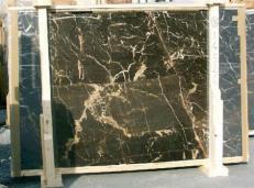 Suministro planchas pulidas 0.8 cm en mármol natural NOIR SAINT LAURENT E-14526. Detalle imagen fotografías