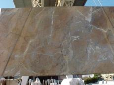 Suministro planchas pulidas 0.8 cm en mármol natural NOISETTE FLEURY E_US331. Detalle imagen fotografías