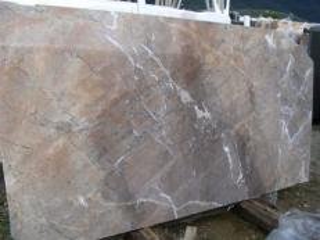 Suministro planchas pulidas 2 cm en mármol natural NOISETTE FLEURY EDM25119. Detalle imagen fotografías