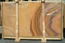 Suministro planchas pulidas 2 cm en ónix natural ONICE ARCOIRIS E-14216/B. Detalle imagen fotografías