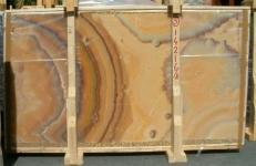 Suministro planchas pulidas 0.8 cm en ónix natural ONICE ARCOIRIS E-14216/B. Detalle imagen fotografías