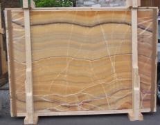 Suministro planchas pulidas 0.8 cm en ónix natural ONICE ARCOIRIS E-OAI14742. Detalle imagen fotografías