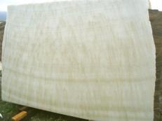Suministro planchas pulidas 0.8 cm en ónix natural ONICE FEATHER EDM25129. Detalle imagen fotografías
