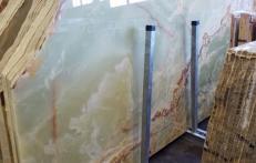 Suministro planchas pulidas 0.8 cm en ónix natural ONICE PAKISTAN AA S0240. Detalle imagen fotografías