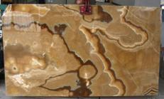 Suministro planchas pulidas 0.8 cm en ónix natural ONYX CAPPUCCINO E-OA14637. Detalle imagen fotografías