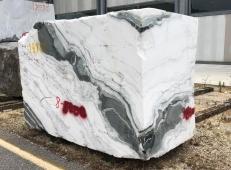 Suministro bloques ásperos 33 cm en mármol natural PANDA 1517M. Detalle imagen fotografías