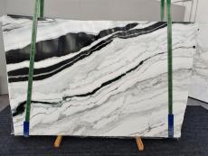 Suministro planchas pulidas 0.8 cm en mármol natural PANDA 1335. Detalle imagen fotografías