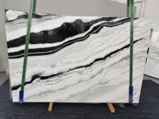 Suministro planchas pulidas 2 cm en mármol natural PANDA 1335. Detalle imagen fotografías