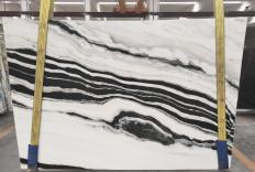 Suministro planchas pulidas 2 cm en mármol natural PANDA 1771M. Detalle imagen fotografías