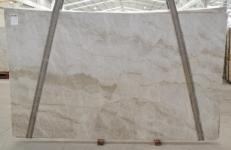 Suministro planchas pulidas 0.79 cm en cuarcita natural PERLA VENATA BQ02209. Detalle imagen fotografías