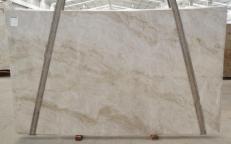 Suministro planchas pulidas 0.8 cm en cuarcita natural PERLA VENATA BQ02209. Detalle imagen fotografías