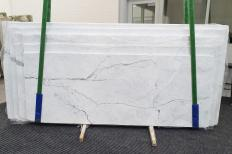Suministro planchas pulidas 2 cm en mármol natural STATUARIETTO 1290. Detalle imagen fotografías
