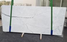 Suministro planchas pulidas 0.8 cm en mármol natural STATUARIETTO 1290. Detalle imagen fotografías
