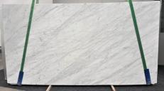 Suministro planchas pulidas 2 cm en mármol natural STATUARIETTO GL 987. Detalle imagen fotografías