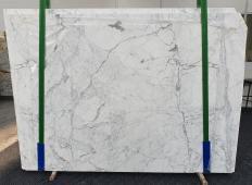 Suministro planchas pulidas 0.8 cm en mármol natural STATUARIO CLASSICO 1278. Detalle imagen fotografías