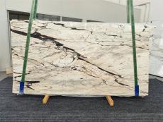 Suministro planchas pulidas 2 cm en mármol natural STATUARIO CORAL 1328. Detalle imagen fotografías