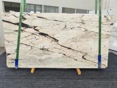 Suministro planchas pulidas 0.8 cm en mármol natural STATUARIO CORAL 1328. Detalle imagen fotografías