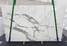 Suministro planchas pulidas 0.8 cm en mármol natural STATUARIO EXTRA 1249. Detalle imagen fotografías