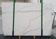 Suministro planchas al corte 2 cm en mármol natural STATUARIO EXTRA 1273. Detalle imagen fotografías