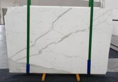 Suministro planchas al corte 0.8 cm en mármol natural STATUARIO EXTRA 1273. Detalle imagen fotografías