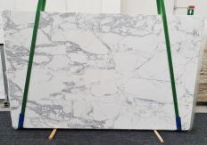 Suministro planchas pulidas 2 cm en mármol natural STATUARIO EXTRA 1437. Detalle imagen fotografías