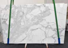 Suministro planchas pulidas 3 cm en mármol natural STATUARIO VENATO 1187. Detalle imagen fotografías